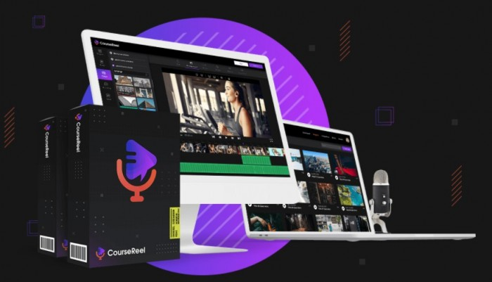 coursereel professional software by abhi dwivedi upsell oto review best creating tons of video courses video content up to 20x as fast as the competition with just by speaking 5f3b8a41954f9