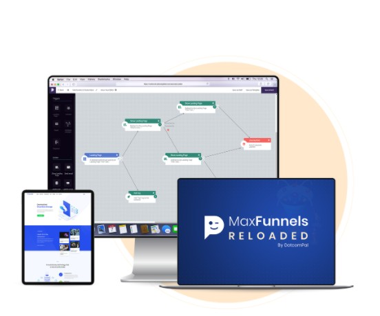 maxfunnels reloaded software oto upsell app by amit pareek review best one easy to use application with visual funnel planner builder inbuilt lead management system next gen 5fa10dec4ec4d