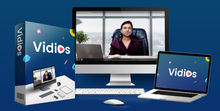 vidios ai agency software by dr amit pareek simon warner plus oto upsell download now best artificial intelligence ai powered video hosting player and marketing platform for entrepr 6097965cc1b22