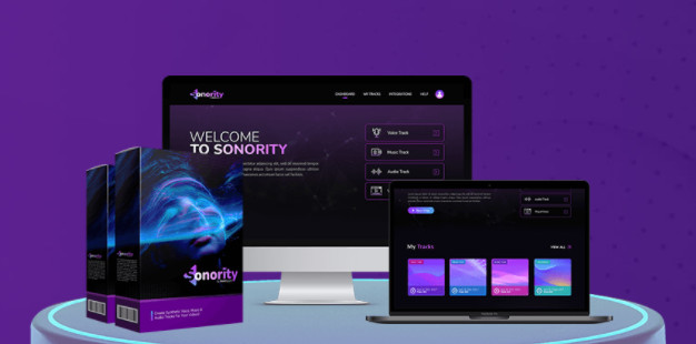 sonority commercial software by abhi dwivedi plus oto upsell download best voice over and music track synthesizer app that lets you create audio tracks for your videos or podcasts 60d58c4738527