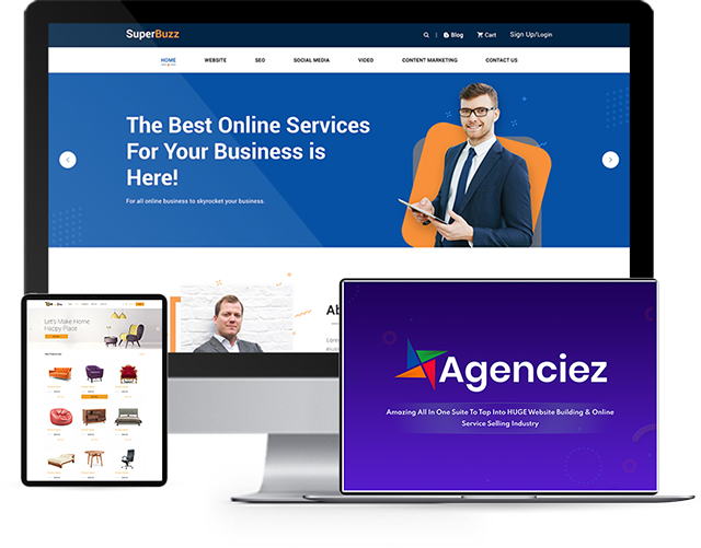 agenciez software by dr amit pareek plus oto upsell download best all in one dfy suite to create stunning local business website along with ready to use highly customisable marketing packag 60fe6ada6e5e7