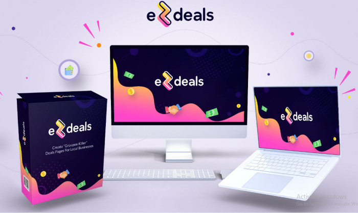 ezdeals software by chris jenkins plus upsell oto download best create and sell individual ezdeals pages 1 business at time extra templates social media covers matching templates prospecting 60f3df4107268