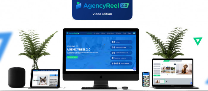 agencyreel 2 0 viral video edition software by ben murray plus oto upsell download best all in one a i based software that builds and runs an agency business for you entirely from the groun 611b6bac14f79