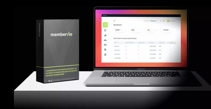 membervio elite membership software by neil napier oto upsell best worlds 1 membership platform with built in payment integrations automated account management 61693471e0581