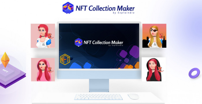 nft collection maker software by andrew darius with oto upsell download best generate massive crypto nft art collections automatically with ttc ai tech have them ready for sale with a 616697cd86a5a